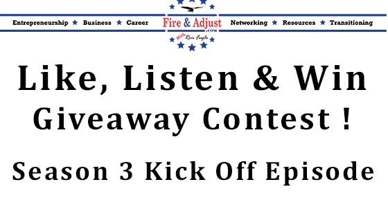 78 - Season 3 Kick Off Episode and the Like, Listen and Win Contest
