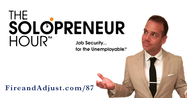 87 - Michael O'Neal of The Solopreneur Hour on Finding your Swing and Conferencetopia